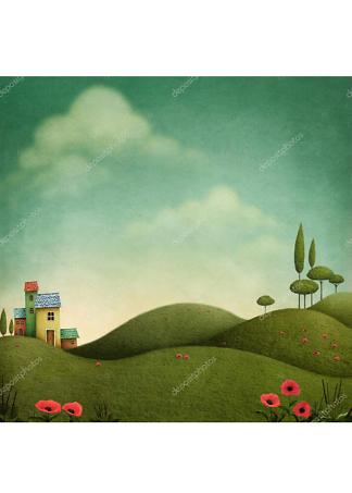 Постер Пейзаж  - фото