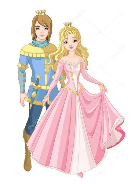 Постер Принц и принцесса  - фото 2