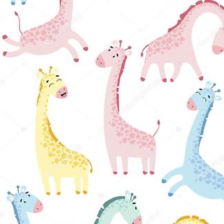 Жираф детский