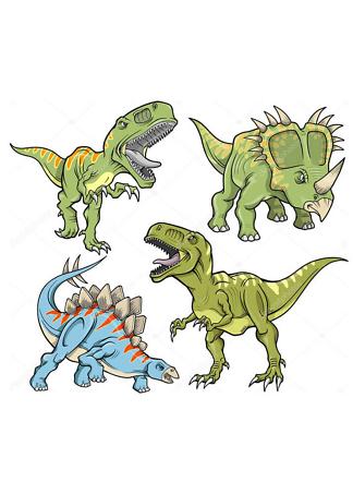 Постер Решительные динозавры  - фото