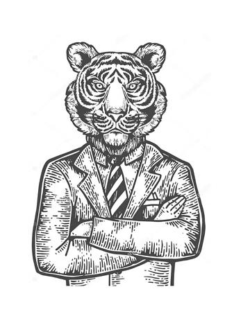 Постер Решительный тигр  - фото