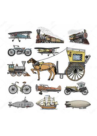Постер Ретро транспорт-3  - фото