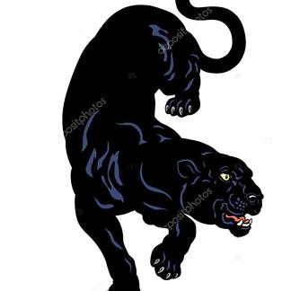 Рисунок пантеры-1