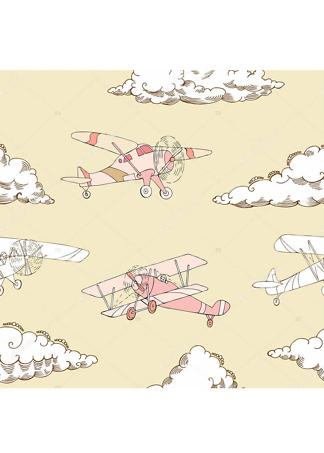 Постер Рисунок самолетов  - фото