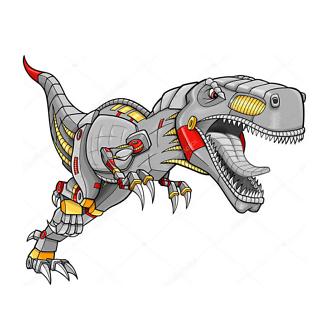 Постер Симпатичные динозавры