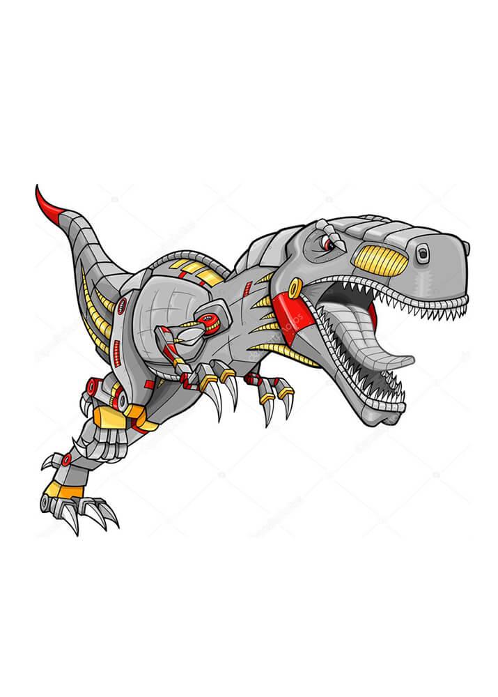 Постер Большой динозавр  - фото