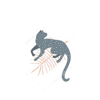 Постер Серый ягуар