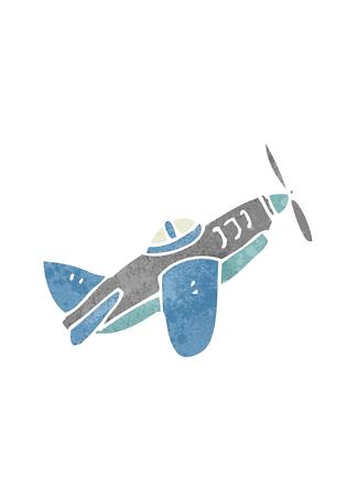 Постер Синий самолет  - фото