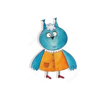 Постер Синяя птица