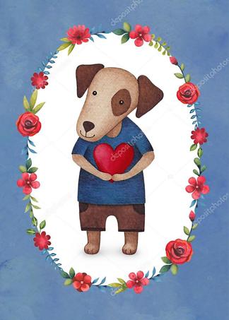 Постер Собака с сердцем  - фото