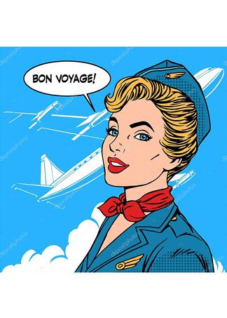 Постер Стюардесса  - фото