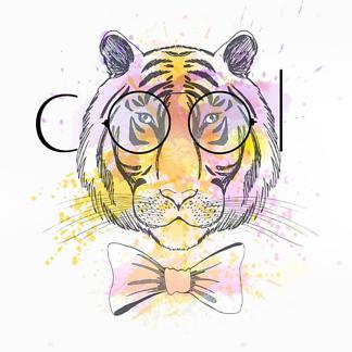 Тигр в очках COOL
