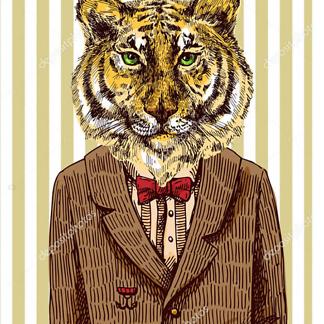 Тигр в пиджаке