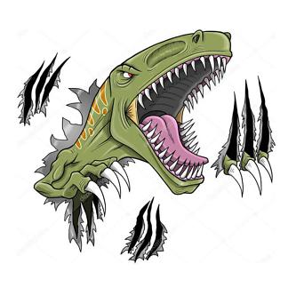 Постер Виды динозавров