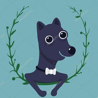 Постер Иберийский волк