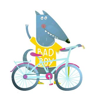Постер Волк Bad Boy