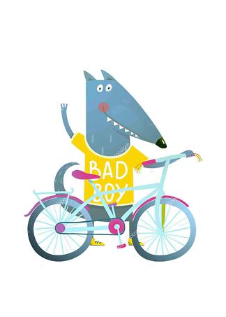 Постер Волк Bad Boy  - фото