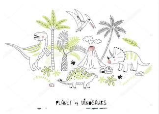 Постер Планета динозавров  - фото