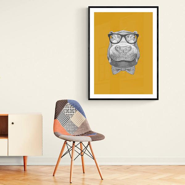 Постер Бегемот в солнечных очках  - фото 2
