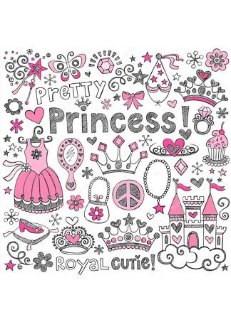 Постер Скетч Princess  - фото