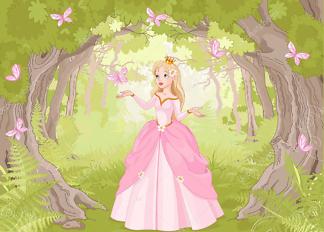 Постер Принцесса в лесу  - фото