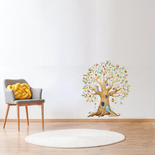 Наклейка на стену Дерево