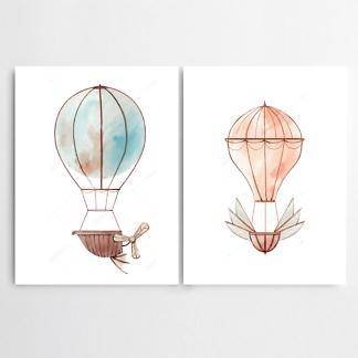 Постер Воздушные шары  - фото
