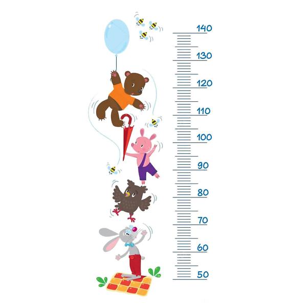 Детский ростомер Винни-Пух  - фото