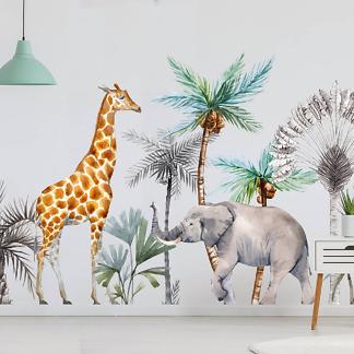 Жираф и Слон