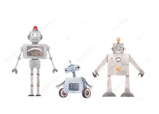 Роботы  - фото