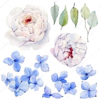 Декоративная наклейка Цветы  - фото