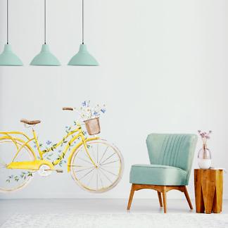 Наклейка Велосипед  - фото