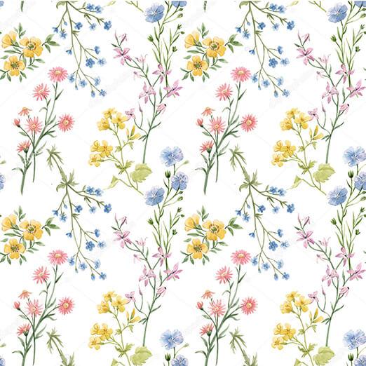 Фотообои Полевые цветы - фото 11