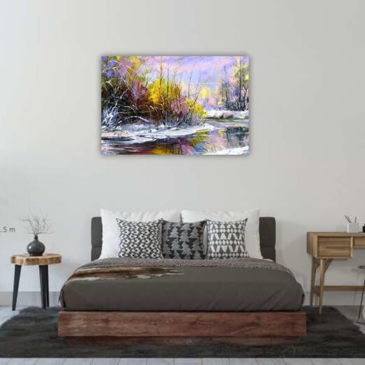 Постер Весенняя река - фото 11