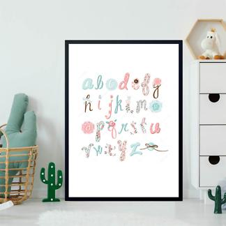 Постер Алфавит рукодельницы  - фото 2