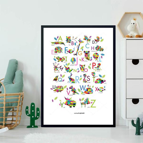 Постер Английский алфавит для детей  - фото 2