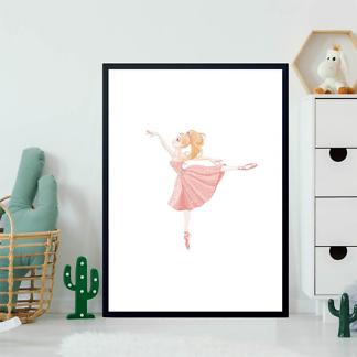 Постер Балерина в розовом  - фото 2