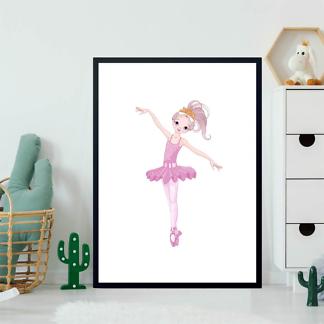 Постер Мультяшная балерина  - фото 2