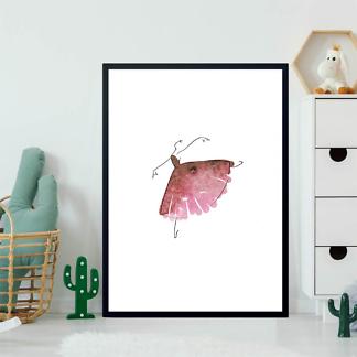 Постер Балерина акварель  - фото 2