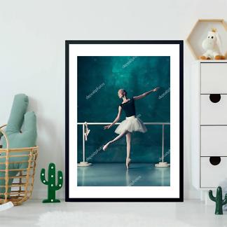 Постер Балерина у станка  - фото 2