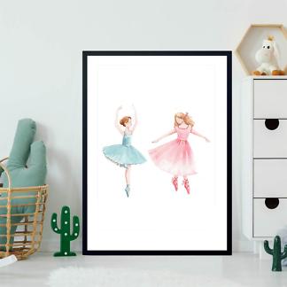 Постер Две балерины  - фото 2