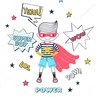 Супер Мальчик  - фото