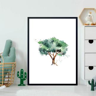 Постер Оливковое дерево  - фото 2