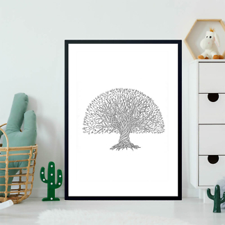 Постер Изящное дерево  - фото 2