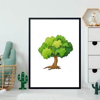 Постер Дерево летнее-2  - фото 2