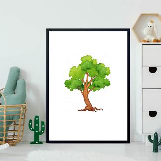 Постер Дерево летнее  - фото 2