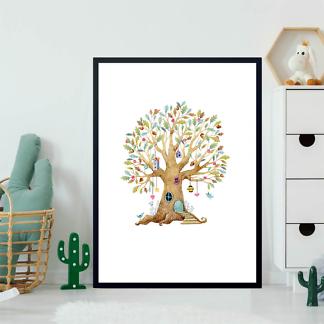 Постер Дерево-домик-2  - фото 2