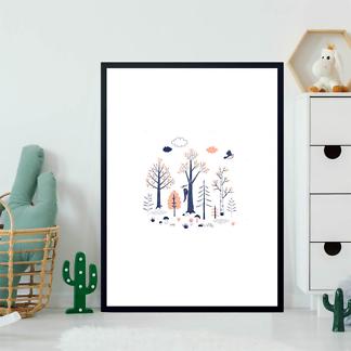 Постер Осенние деревья  - фото 2