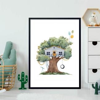 Постер Серый домик на дереве  - фото 2