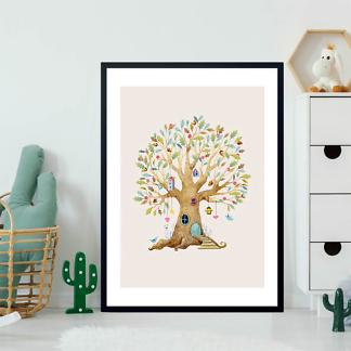 Постер Дерево-домик-1  - фото 2